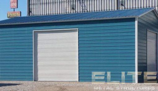 Royal-Blue-Garage-Building