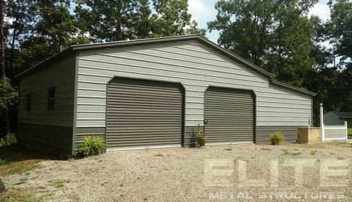 30x41x10-Backyard-Metal-Garage-Building-with-Lean-To